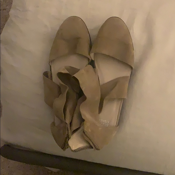 Eileen fisher tan shoes, 11